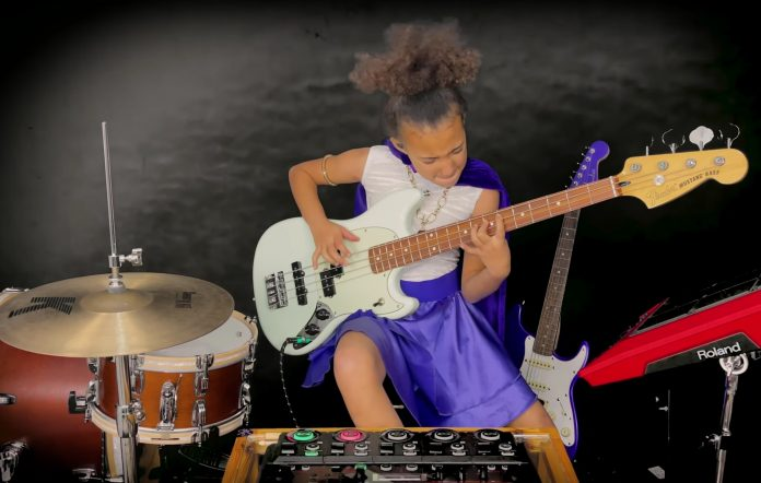 Nandi Bushell Covers Led Zeppelin S Immigrant Song For Jimmy Page S Birthday