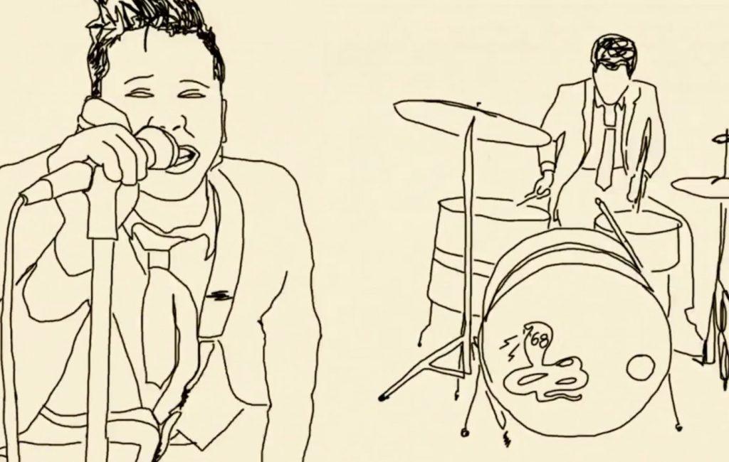 Bekijk de handgetekende video van '68 voor de rauwe nieuwe single' Bad Bite '