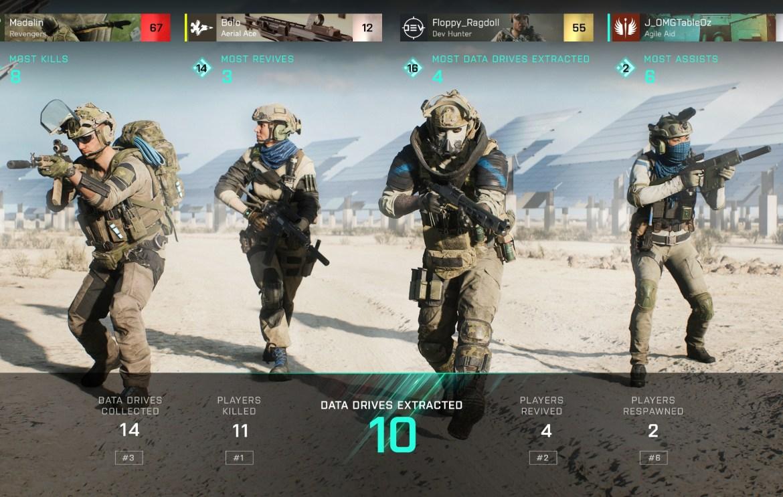Battlefield 2042 hazard mode data drives