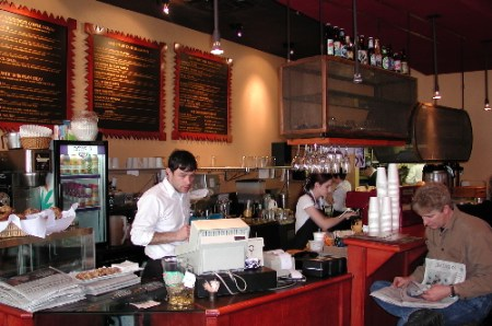 For breakfast, lunch and dinner, the Gold Street Caffe is one happening place.