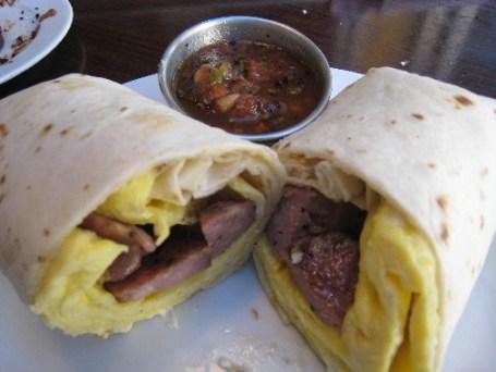 A unique take on a breakfast burrito....so un-ALbuquerque!