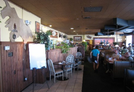 Western themed Roper's Restaurant
