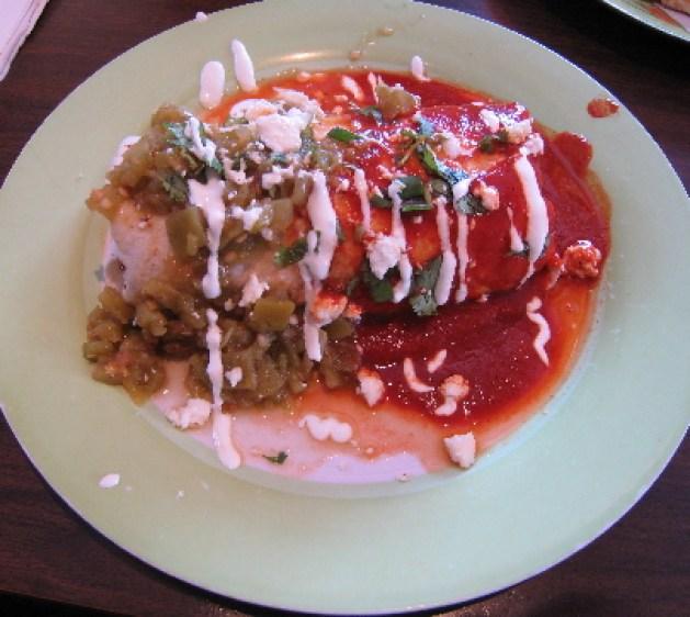 Sophia's Breakfast Burrito