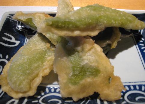 Green Chili Tempura