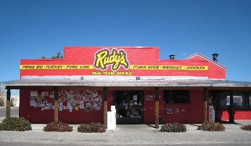 Rudy's Real Texas Bar-B-Q on North Coors.