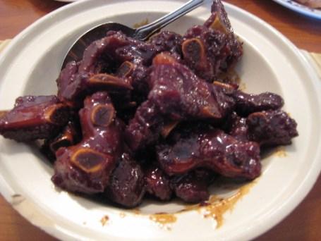 Vinegar and sugar ribs