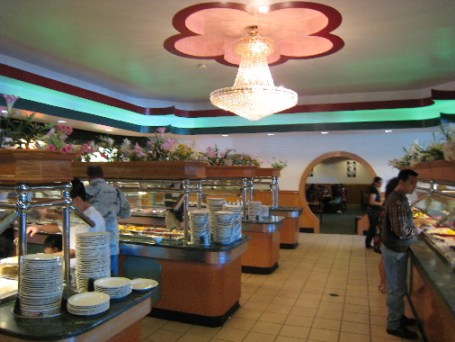 Several buffet stations feature a treasure trove of buffet items.