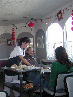 Hyangmi Yi delivers diem sum treasures to eager diners