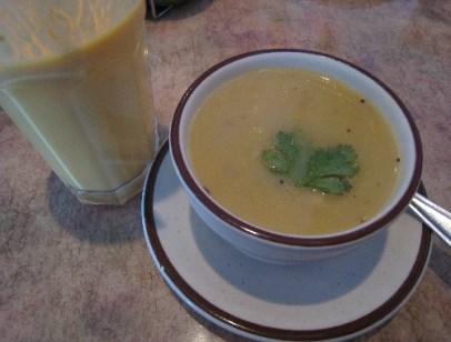 Mulligatawney, a melodic name for a savory soup.