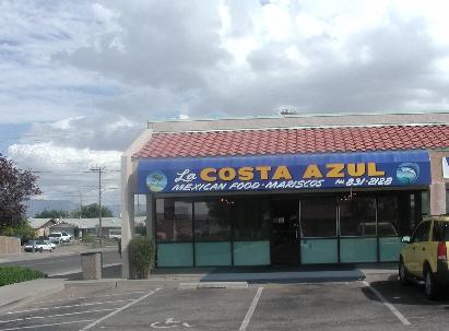 La Costa Azul, Mexican Food and Mariscos on Albuquerque's West Mesa.