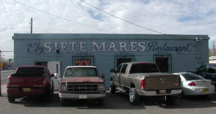 The Siete Mares Restaurant serves up boatloads of mariscos.