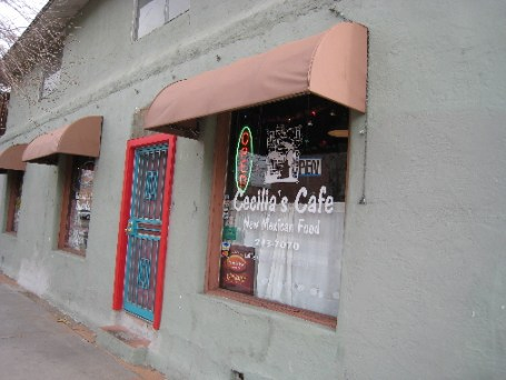 Cecilia's Cafe on 6th Street
