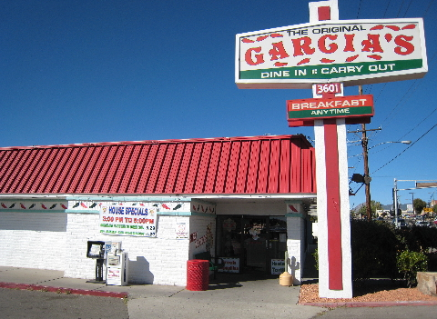 The Original Garcia's on Juan Tabo, N.E.