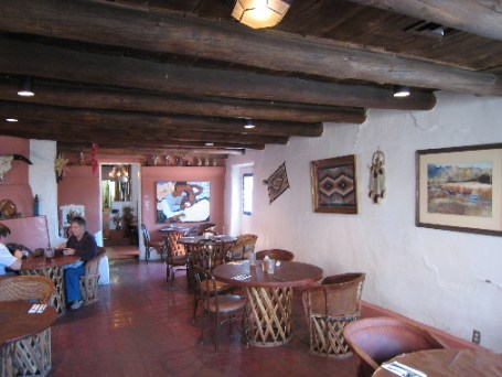 The interior of Las Mananitas