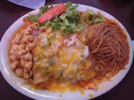 The Grande Enchilada plate