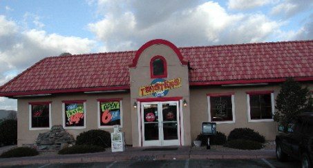 Twisters, a familiar and favorite New Mexican restaurant.