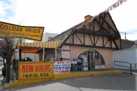 The Golden Pride restaurant near UNM.