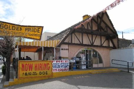 The Golden Pride restaurant near UNM.
