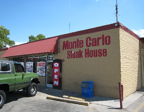 The Monte Carlo Steakhouse and Package Liquor Store