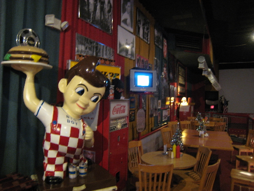 The famous big boy and other nostalgic items