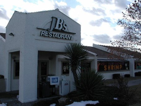 JB's Restaurant is a popular dining destination in Rio Rancho.