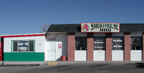 Rio Rancho's Smokehouse BBQ restaurant, a local institution!