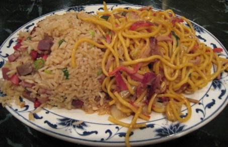 Roast Pork Lo Mein