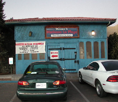 Mariscos La Playa in Espanola, an outstanding Mexican restaurant.