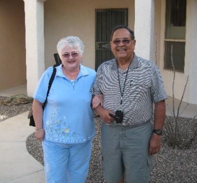Our friends Skip and Sue Munoz