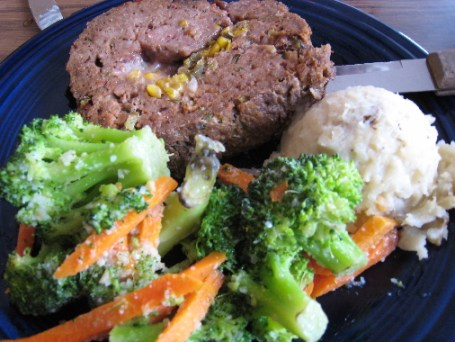 New Mexico Meatloaf, a specialty of the house