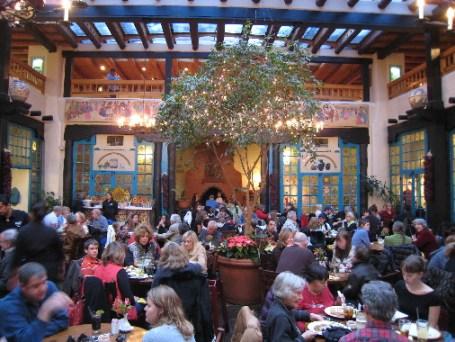 La Plazuela's fabulous dining room