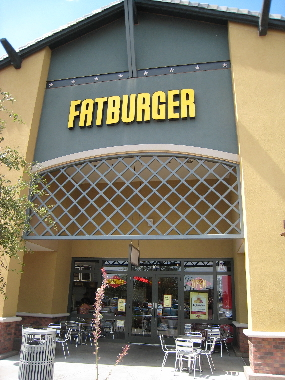 The Fatburger in Gilbert, Arizona