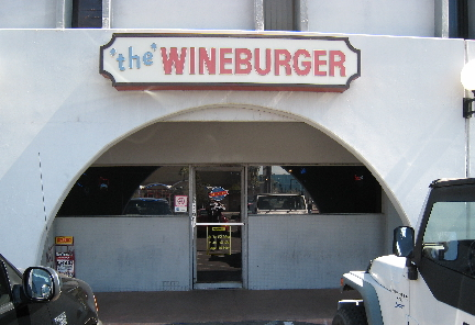 The Original Wineburger in Phoenix, Arizona