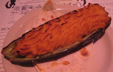 Chile stuffed baked potato