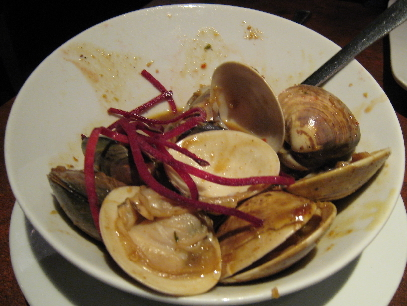 Basil Curry Clams
