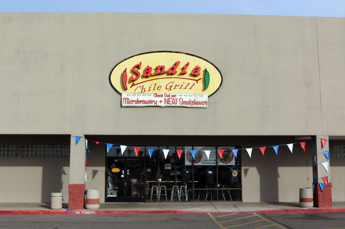 Sandia Chile Grill, Smokehouse and Microbrewery