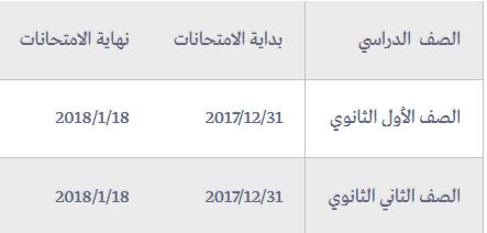 3 11 - نجوم مصرية - موعد امتحانات نصف العام 2017 وموعد أجازة نصف العام لجميع المراحل المختلفة ابتدائي وإعدادي وثانوي والتعليم الفني أيضا