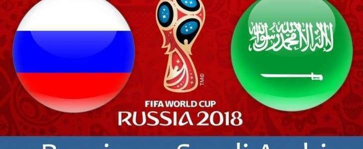توقيت مباراة السعودية وروسيا اليوم الخميس 14-6-2018 في افتتاحية مونديال كأس العالم والقنوات الناقلة