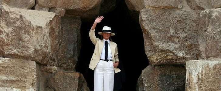 انتعاش السياحة المصرية بزيارة ميلانيا ترامب