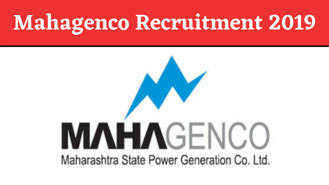 Mahagenco Recruitment 2019