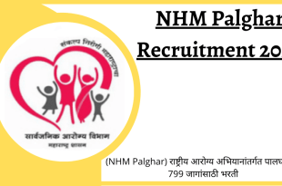 NHM Palghar Recruitment 2020