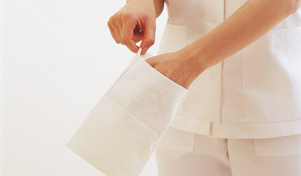 Gants de toilette Klinion utilisation