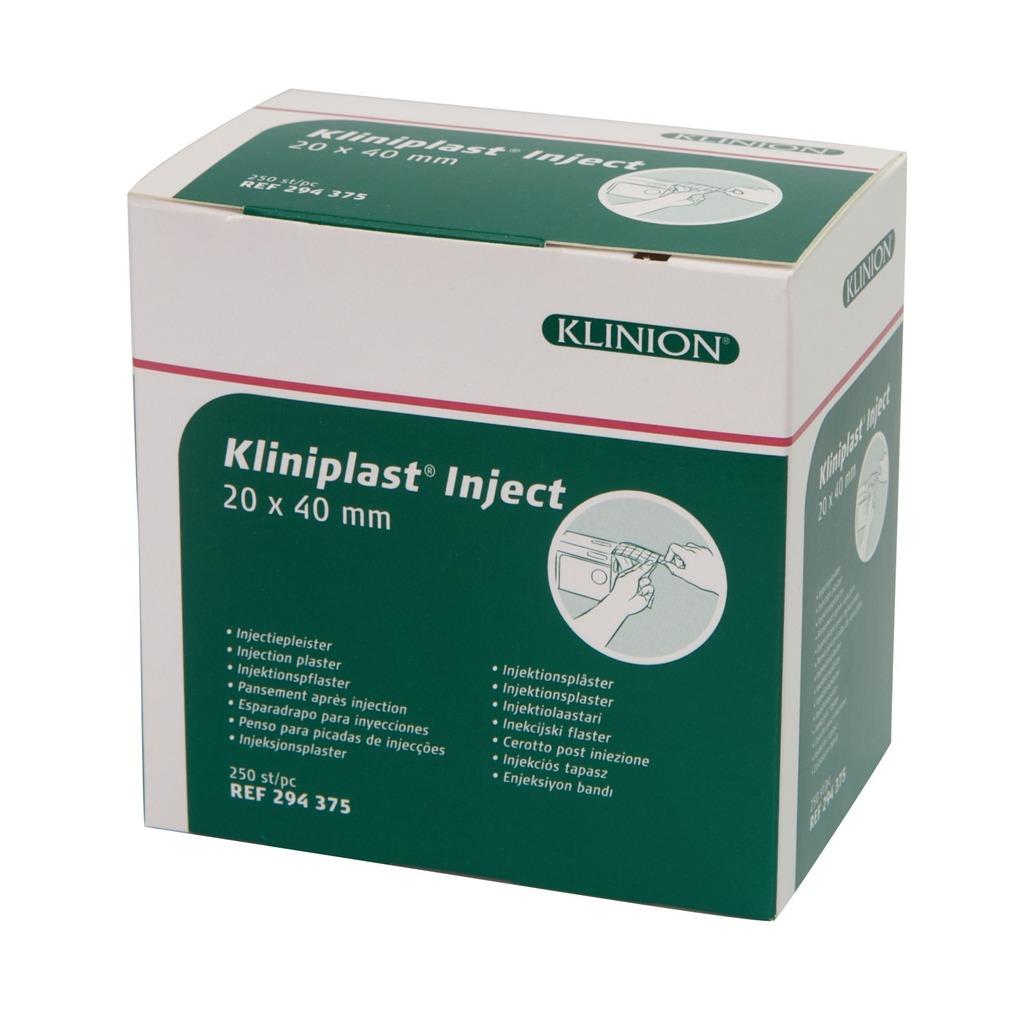 Emballage pansement spécial injection Kliniplast