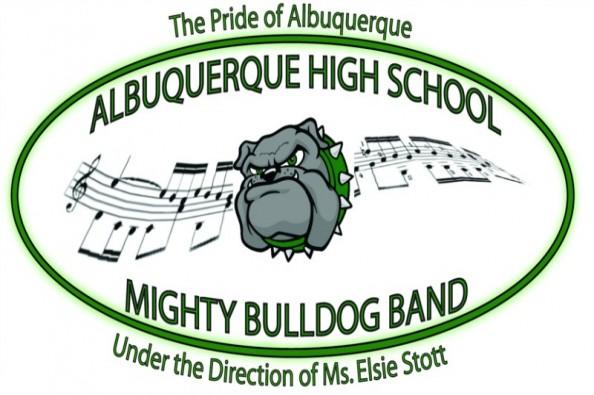 AHS Mighty Bulldog Band logo