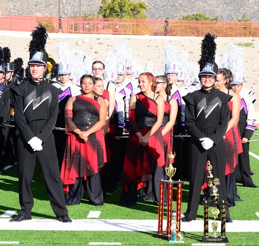 Erica Garcia - NM Pageant of Bands
