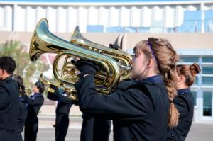 Photo of LCHS Band Member Eliana O'Brien