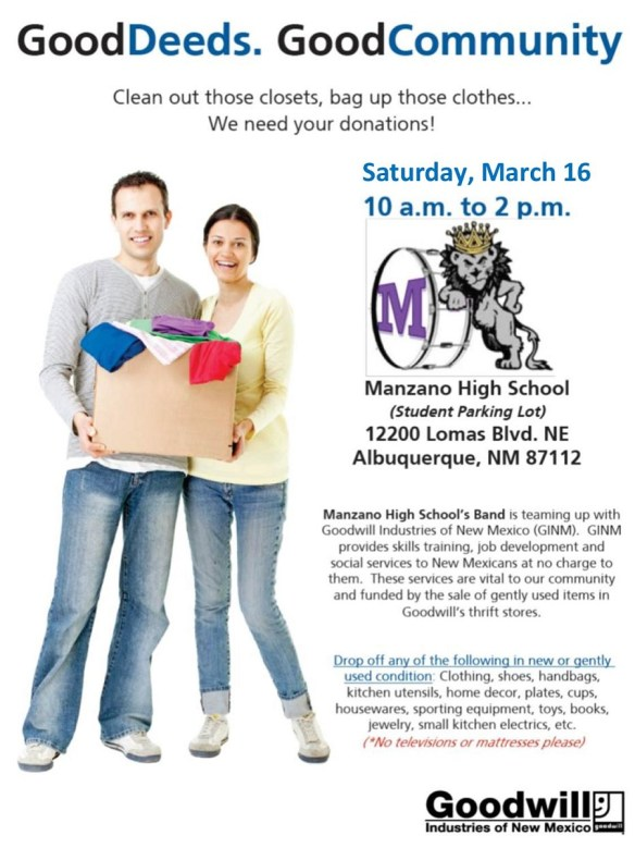 MHS Goodwill Flyer March 2019
