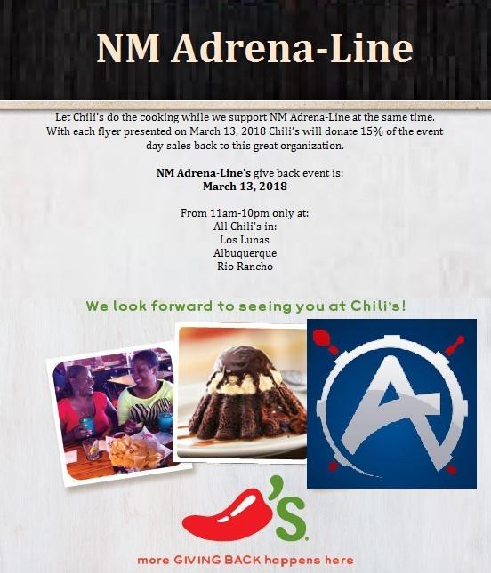 NM Adrena-Line chili's flyer