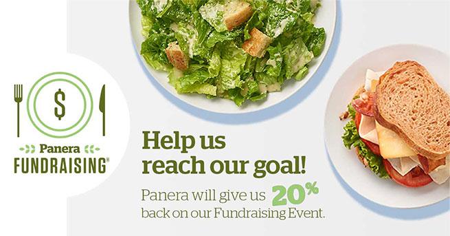 Panera Fundraising Promo