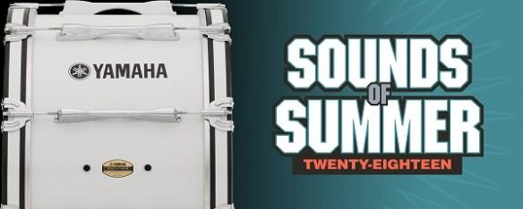 Yamaha Sounds of Summer 2018 logo